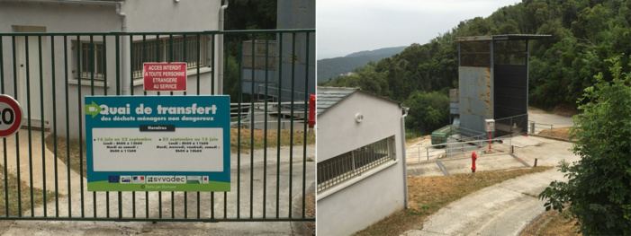 Centre de transfert ou station de transit : (Luri)