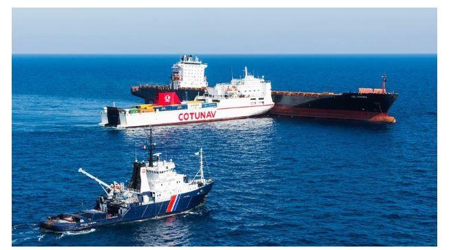Collision au large du Cap Corse : torts partagés