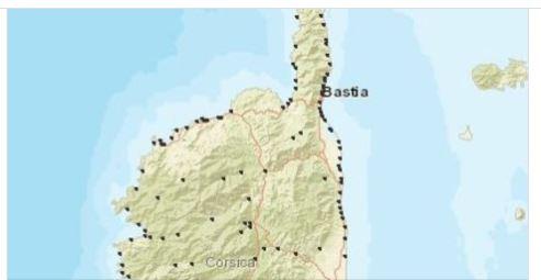 Corse : qualité exceptionnelle des eaux de baignades