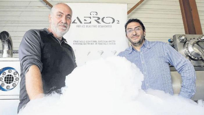 Nettoyage par le froid : le créneau innovant de deux entrepreneurs
