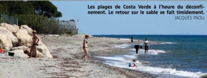 Retour timide sur les plages de Costa Verde