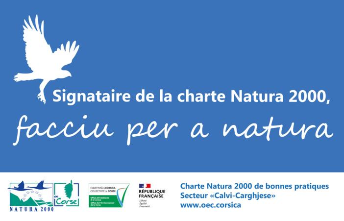 Sites Natura 2000 du secteur « Calvi - Carghjese » : adhérez à la nouvelle Charte Natura 2000 de bonnes pratiques