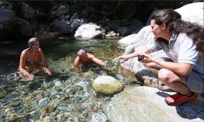 Le Parc régional sensibilise les visiteurs dans la Gravona