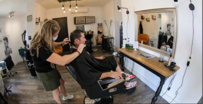 LUMIU  Un salon de coiffure tourné vers le recyclage des cheveux