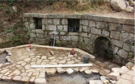 SARTÈ Le Chemin des fontaines prend tournure