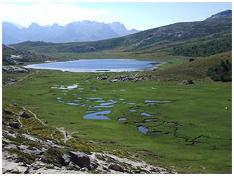 Lac et pozzines de Nino
