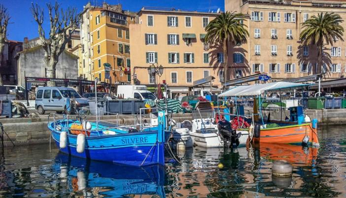 Port de pêche Tino Rossi (Ajaccio)