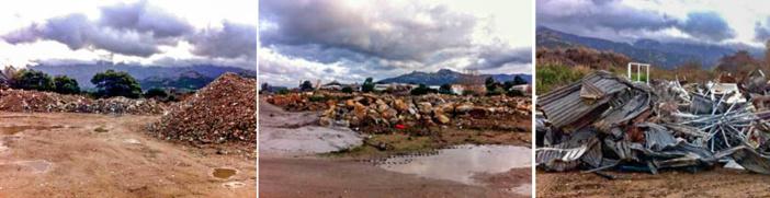 Les déchets inertes du bâtiment / Ferrailles