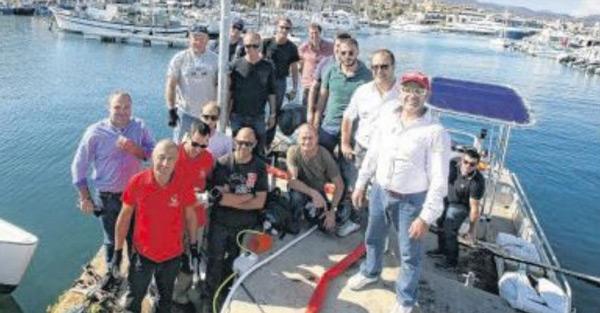 """Les responsables """"environnement"""" des ports de la ville ont récemment suivi une formation de deux jours organisée par la CCl 2A, en collaboration avec l'Office de l'Environnement de la Corse"""