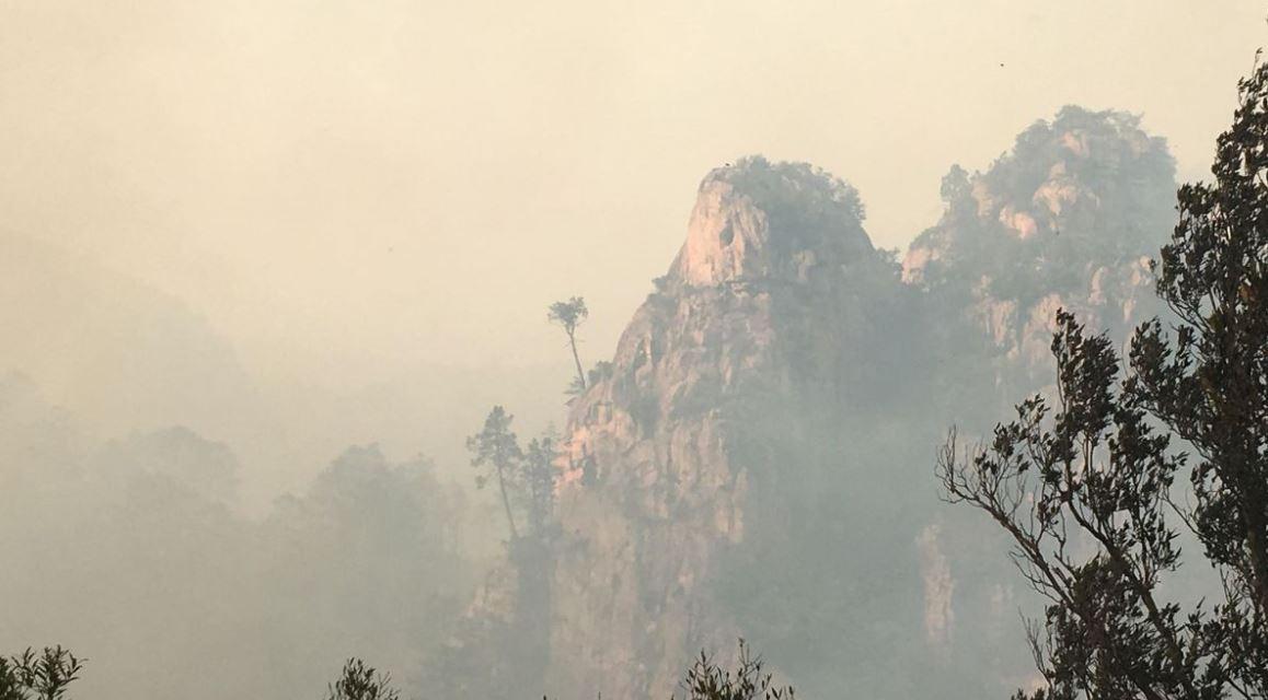 Incendie entre Quenza et Solaro : 4.600 hectares parcourus, la Haute-Corse placée en vigilance jaune vent fort