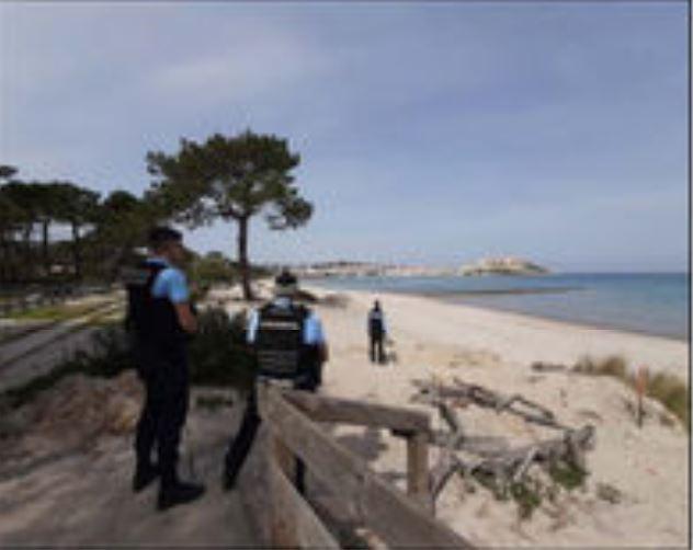 La plage et la pinède désormais interdites