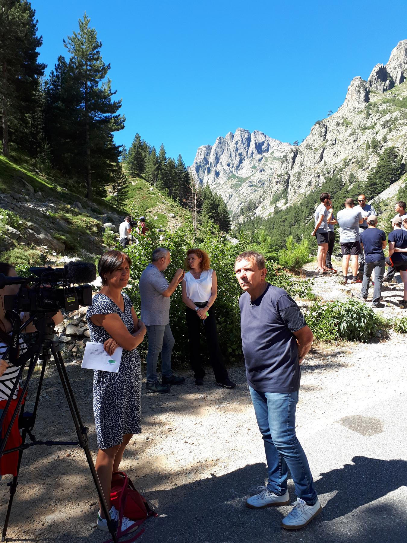 Mise en place de l'équipe de gestion de la Réserve Naturelle de Corse du Massif du Monte Ritondu