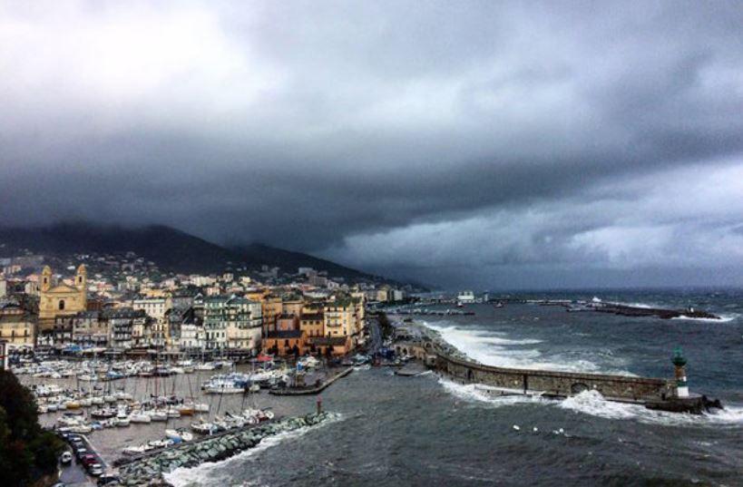 Vigilance Jaune en Corse pour divers phénomènes météos