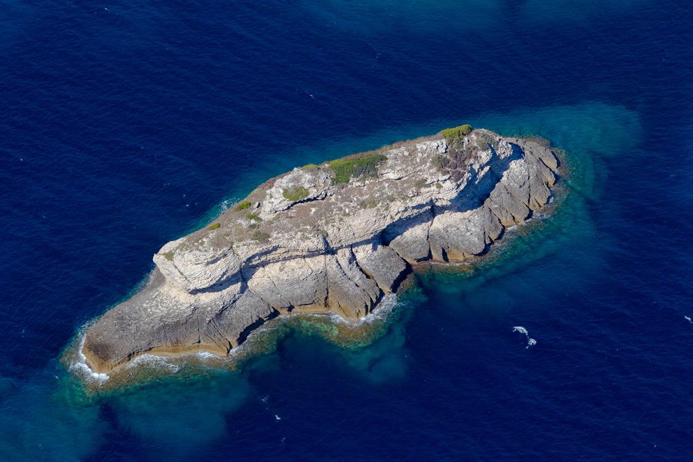 Les îlots marins sont une richesse du détroit des Bouches de Bonifacio, abritant de nombreuses espèces endémiques ou protégées. (photo : O. Bonnenfant/OEC)