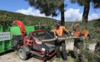 Ajaccio : le broyage des déchets verts alternative aux écobuages