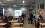 Intervention des agents de l'OEC dans le cadre du forum des métiers au Collège des Padules à Aiacciu