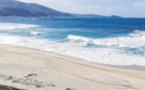 Atteintes environnementales sur la plage de Capolauroso