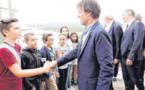 A Bonifacio, Nicolas Hulot ouvre les vannes de l'économie circulaire