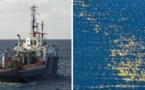 Pollution à la paraffine : un bateau de dépollution est entré en action en Corse du Sud
