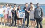 La commune s'engage pour des plages propres et sans tabac