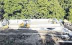Zicavu : La station d'épuration en chantier