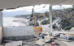 Un établissement démoli à Calvi en application du décret plage