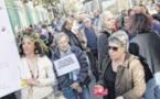 """Les manifestants en """"action"""" pour le climat à Ajaccio"""