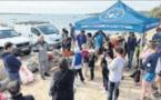 Le grand nettoyage de plages avant le Color Planet Tour du jour