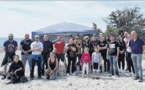 Les nettoyeurs du week-end sur la plage de Cap Sud