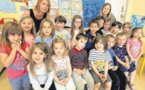 Les maternelles de l'école de Ponte Novu au chevet de la mer