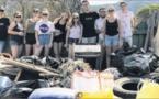 Les jeunes de Global Earth Keeper dépolluent les rivages de la Chiappa
