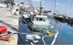 Pollution : un chalutier coule dans le vieux port de Bastia