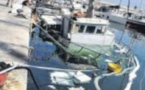 Le chalutier coule définitivement dans le vieux-port de Bastia