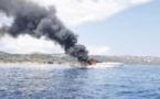Le chanteur Gims évacué d'un bateau en feu à Bonifacio