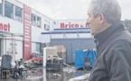 Contre les crues du Rizzanese un entrepreneur défend son mur