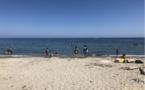 Moriani Plage : la structure censée protéger la plage de l'érosion vandalisée