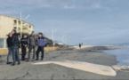 Le dispositif de protection contre l'érosion à nouveau vandalisé sur la plage de Moriani