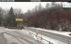 Il a neigé sur le réseau routier cette nuit : de nouvelles chutes de neige attendues aujourd'hui