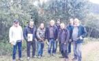 Les propriétaires forestiers formés à la taille du chêne-liège