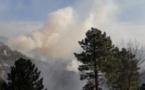Incendie de Bavella : Le nouveau coup de vent menace le massif