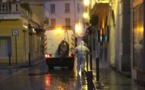 Coronavirus - Désinfection et nettoyage des rues et ruelles à Calvi