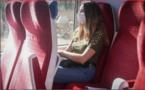 Passagers masqués, distances et gel, le nouveau train