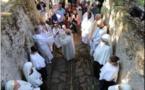 I CATERI  L'eau rejaillit de l'antique source dans les jardins du couvent