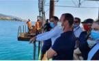 Nouveau port de Bastia : les explorations géotechniques sur leur fin