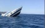 BUNIFAZIU   Un yacht échoué contre un récif