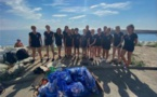 E VILLE DI PETRABUGNU  Environnement : une belle operata pour nettoyer la plage des Minelli