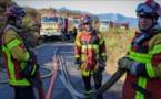 L'incendie maîtrisé mais la vigilance reste de mise
