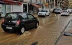 AIACCIU  L'avenue Noël-Franchini encore sous les eaux