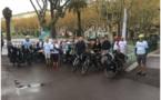 Départ du Corsica Sun Trip, une course de 600 km à vélo solaire