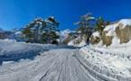 GHISONI  Le champ de neige de Capanelle accessible avec des équipements spéciaux